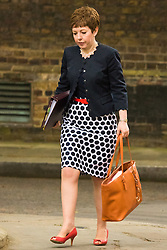 Downing Sreet, London, July14th 2015. Leader of the House of Lords Baroness Stowell  arrives at 10 Downing street for the government's weekly cabinet meeting.