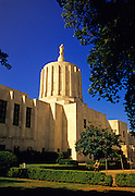 Image of the Oregon State Capitol in Salem, Oregon, Pacific Northwest by Andrea Wells