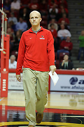 19 November 2010:  Jimmy Knodel during an NCAA volleyball match between the Sycamores of Indiana State and the Illinois State Redbirds at Redbird Arena in Normal Illinois.