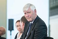 """06 JUN 2018, BERLIN/GERMANY:<br /> Dr. Rolf Martin Schmitz, Vorstandsvorsitzender RWE AG, 27. BBH-Energiekonferenz """"Die Energiewende"""", Franzoesische Friedrichstadtkirche<br /> IMAGE: 20180606-01-150"""