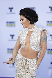 HOLLYWOOD, CA - OCTOBER 26: Alejandra Guzman attends the Telemundo's Latin American Music Awards 2017 held at Dolby Theatre on October 26, 2017. Byline, credit, TV usage, web usage or linkback must read SILVEXPHOTO.COM. Failure to byline correctly will incur double the agreed fee. Tel: +1 714 504 6870.
