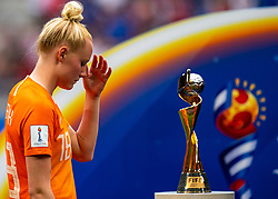 07-07-2019 FRA: Final USA - Netherlands, Lyon<br /> FIFA Women's World Cup France final match between United States of America and Netherlands at Parc Olympique Lyonnais. USA won 2-0 / Danique Kerkdijk #18 of the Netherlands