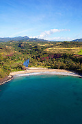 Lawai Valley and Beach, Allerton Gardens, Kauai, Hawaii
