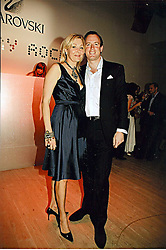 NADJA SWAROVSKI and her husband RUPERT ADAMS at the Swarovski 'Runwy Rocks' held at the Phillips de Pury Gallery, Howick Place, London on 10th June 2008.<br /><br />NON EXCLUSIVE - WORLD RIGHTS