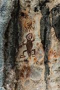 Petroglyphs<br /> Aljui Island<br /> Raja Ampat<br /> Coral triangle<br /> Indonesia