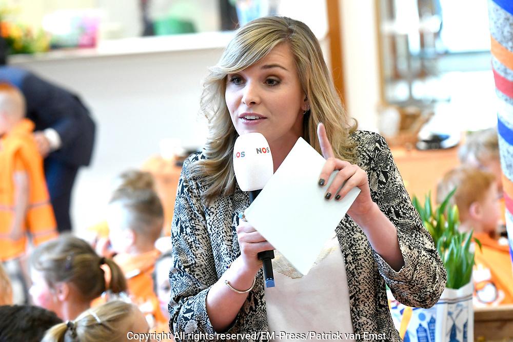 Koning Willem Alexander heeft in Twello de zesde editie van de Koningsspelen geopend. Hij deed dat na een gezamenlijk Koningsontbijt met kinderen van de Brede School De Fliert.<br /> <br /> Op de foto: Welmoed Sijtsma