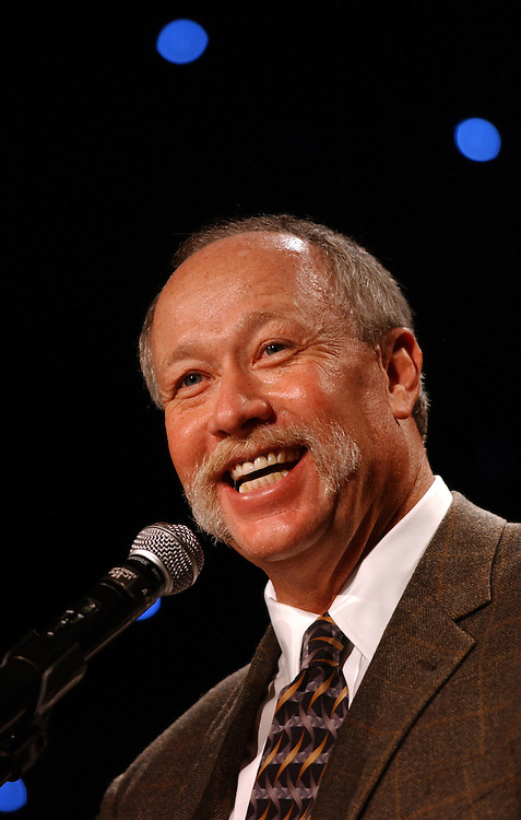 Former Major League pitcher Goose Gossage speaks at the 2006 University of Nevada Bobby Dolan Baseball Banquet, Feb. 1, 2006, at the Silver Legacy Hotel and Casino in Downtown Reno...Photo by David Calvert<br />