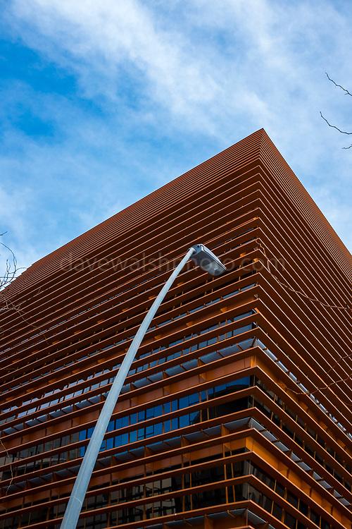 Telecommunications Market Commission building, Barcelona. Building design by Battle & Roig Architects of Commission of the Telecommunications Market, CMT in 22@ Barcelona