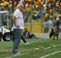 Photo: Steve Bond/Richard Lane Photography.<br />Ghana v Cameroon. Africa Cup of Nations. 07/02/2008. Otto Pfister hands on hips