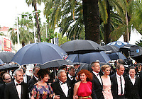 The cast arriving at the Vous N'Avez Encore Rien Vu gala screening at the 65th Cannes Film Festival France. Monday 21st May 2012 in Cannes Film Festival, France.
