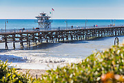 Winter in San Clemente at the Pier