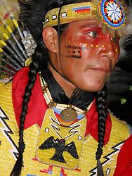 Fancy dancer, Rosebud Fair Powwow, Rosebud Indian Reservation, 2003.