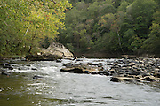 The big south fork of the Cumberland River, Tennessee.  Big South Fork National River and Recreation Area