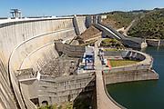 Barragem do Alqueva, Rio Guadiana river Alqueva dam hydroelectric power, Moura, Portugal