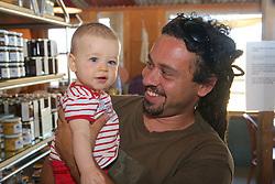 Damian & Daughter, Asha