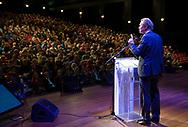Nederland, Utrecht, 3 maart 2013<br /> Partijcongres Groen Links.<br /> Speech fraktievoorzitter Bram van Ojik.<br /> <br /> Foto(c): Michiel Wijnbergh