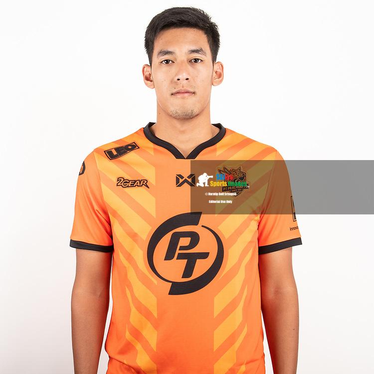 THAILAND - JUNE 24: Rawi Audomsin #19 of PT Prachuap FC on June 24, 2019.<br /> .<br /> .<br /> .<br /> (Photo by: Naratip Golf Srisupab/SEALs Sports Images/MB Media Solutions)