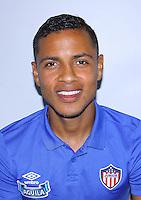 Colombia League - Liga Aguila 2015-2016 - <br /> Club Deportivo Junior de Barranquilla - Colombia / <br /> Jhonny Albeiro Ramirez Lozano