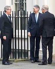 2017-01-24 Australian diplomats visit Philip Hammond at Downing Street