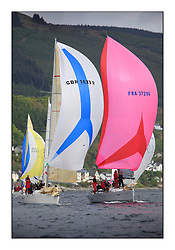 Savills Kip Regatta 2011, the opening regatta of the Scottish Yachting Circuit, held on the Clyde...Salamander XX, GBR1433R,  Corby33, Salamander XX1, First 35, FRA 37296.