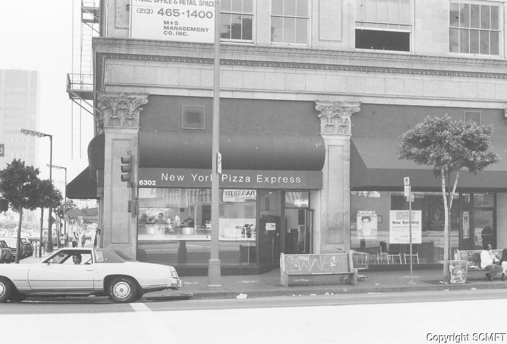 1987 New York Pizza at Hollywood Blvd & Vine St