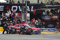 May 26, 2018 - Concord, North Carolina, United States of America - Ty Majeski (60) brings his car down pit road for service during the Alsco 300 at Charlotte Motor Speedway in Concord, North Carolina. (Credit Image: © Chris Owens Asp Inc/ASP via ZUMA Wire)