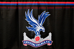 A general view of the Crystal Palace logo before the Premier League match at Selhurst Park, London.