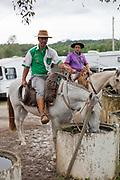 Gaucho cowboy Rodeo, Flores de Cunha, Rio Grande do Sul.