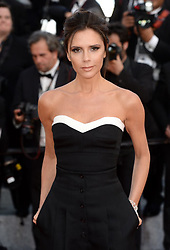 Victoria Beckham attending the Opening Night Gala premiere of Cafe Society held at the Palais De Festival. Part of the 69th Cannes Film Festival in France. (Mandatory credit: Doug Peters/EMPICS Entertainment)