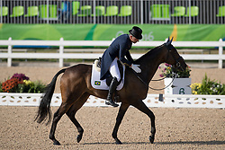 Parro Carlos, BRA, Summon Up The Blood<br /> Dressage test evening<br /> Olympic Games Rio 2016<br /> © Hippo Foto - Dirk Caremans<br /> 06/08/16