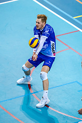 Steven Ottevanger of Lycurgus in action during the league match between Draisma Dynamo vs. Amysoft Lycurgus on March 13, 2021 in Apeldoorn.