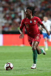September 10, 2018 - Lisbon, Portugal - Portugal's forward Gelson Martins in action during the UEFA Nations League A group 3 football match Portugal vs Italy at the Luz stadium in Lisbon, Portugal on September 10, 2018. (Credit Image: © Pedro Fiuza/ZUMA Wire)