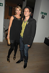 STEPHEN & ASSIA WEBSTER at the Swarovski 'Runwy Rocks' held at the Phillips de Pury Gallery, Howick Place, London on 10th June 2008.<br /><br />NON EXCLUSIVE - WORLD RIGHTS