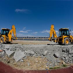20100519: SLO, Rebuilding of Stadium Bonifika in Koper