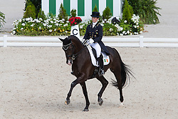 Judy Reynolds, (IRL), Vancouver K - Grand Prix Team Competition Dressage - Alltech FEI World Equestrian Games™ 2014 - Normandy, France.<br /> © Hippo Foto Team - Leanjo de Koster<br /> 25/06/14