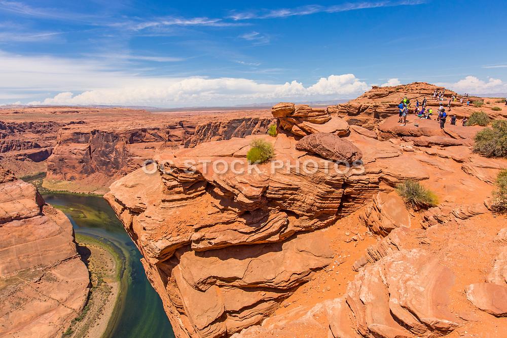 Horseshoe Bend Overlook Arizona