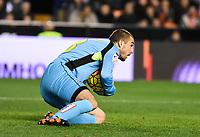 RCD Espanyol's Pau Lopez  during La Liga match. February 13, 2016. (ALTERPHOTOS/Javier Comos)