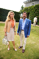 The HON.SIR ROCCO & LADY FORTE at the Cartier Style et Luxe, the Goodwood Festival of Speed, West Sussex on 13th July 2008.<br /> <br /> NON EXCLUSIVE - WORLD RIGHTS