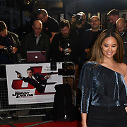 Kiera-Nicole Bennar attend Johnny English Strikes Again at CURZON MAYFAIR, London, Uk. 3 October 2018.