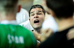 Aleksandar Saso Nikitovic, coach of Petrol Olimpija during basketball match between KK Sixt Primorska and KK Petrol Olimpija in semifinal of Spar Cup 2018/19, on February 16, 2019 in Arena Bonifika, Koper / Capodistria, Slovenia. Photo by Vid Ponikvar / Sportida