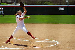 28 April 2007: Redbird starting pitcher Stacy Birk. The Southern Illinois Salukis played the Illinois State Redbirds on the campus of Illinois State University in Normal Illinois.