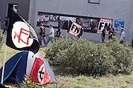 Campo d'Azione 2006 di Forza Nuova a Marta (VT) meeting of forza nuova, raduno forza nuova