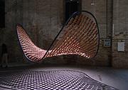 Venice, Biennale Architettura: Arsenale. Flocking Tejas