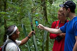 Meyer Showing Chück and Jared A Pink-toed Tarantula, Tiputini