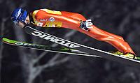 GEPA-2711041354 - KUUSAMO,FINNLAND,27.NOV.04 - SKI NORDISCH - FIS Weltcup Skispringen. <br />Bild zeigt Janne Ahonen (FIN)<br />Foto: GEPA pictures/ Norbert Juvan