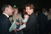 DARIEN LEADER;CLEMENTINE LEADER; MARY HORLOCK; CORNELIA PARKER, The Tanks at Tate Modern, opening. Tate Modern, Bankside, London, 16 July 2012