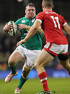 Dave Kilcoyne of Ireland during the 2016 Guinness Series  autumn international rugby match, Ireland v Canada at the Aviva Stadium in Dublin, Ireland on Saturday 12th November 2016.<br /> pic by  John Halas, Andrew Orchard sports photography.