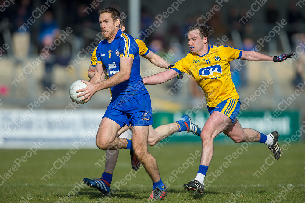 Clare's Gary Brennan V Roscommon's Cathal Compton and Niall Kilroy