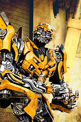 You your ever in Orlando, Florida visit Universal Studios and meet Bumblebee along with all the other autobots.