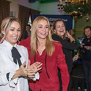 NLD/Amsterdam/20181206 - Sky Radio's Christmas Tree For Charity, Froukje de Both en Tanja Jess